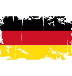 Germany grunge flag vector