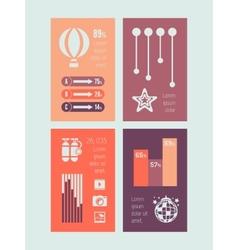 Infographic element vector