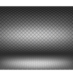 Striped diagonal cells studio background vector