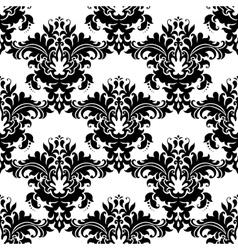 Heavy ornate seamless arabesque pattern vector