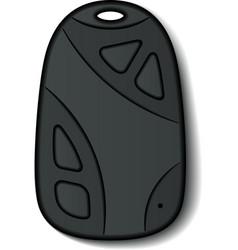 Car remote control micro hidden camera keychain vector