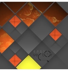 Abstract geometrical design vector