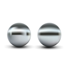 Chrome balls vector