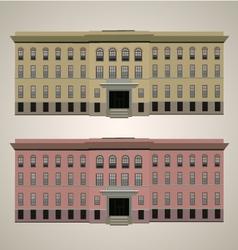 Modern building 1 vector