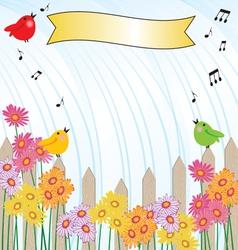 Singing in the rain vector