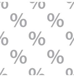 New percent seamless pattern vector