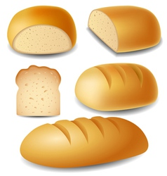Bread set vector