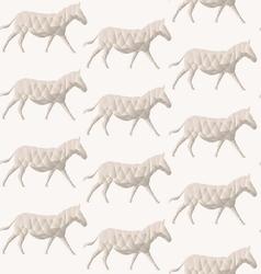 Abstract triangular horse vector