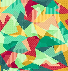 Retro mosaic seamless pattern vector