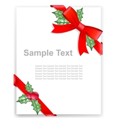 Greeting card or the certificate vector
