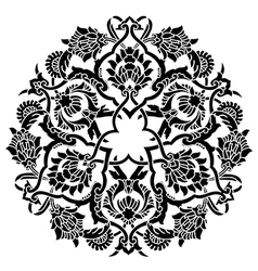 Artistic ottoman pattern series fifty five vector