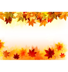Fall background vector