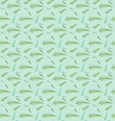 Seamless leaf pattern set vector