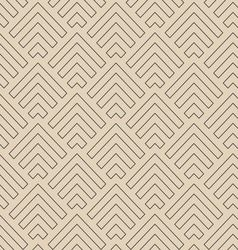 Abstract line arrows pattern vector