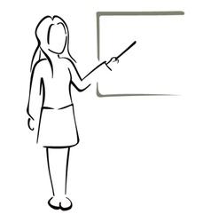 Teaching in class vector