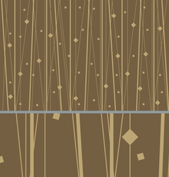 Abstract luxury pattern gold vector