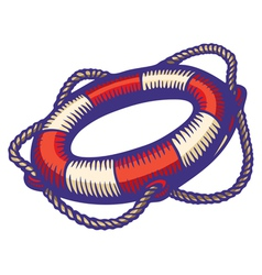 Lifebuoy color vector