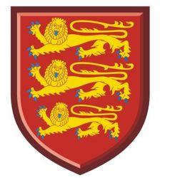 England royal arms vector