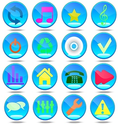 Audio group house badge tool button user mass medi vector