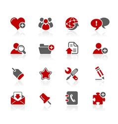 Blog icons vector
