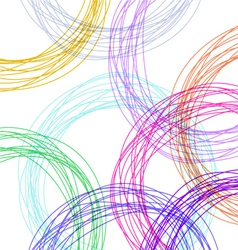 Hand drawn colorful background vector