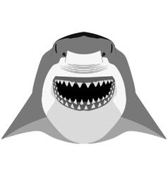 Shark mascot sport symbol vector