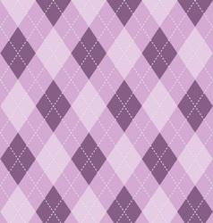 Argyle background in purples vector