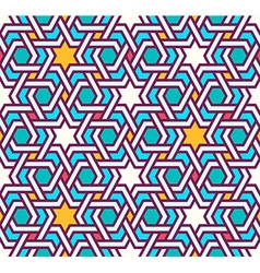 Tangled modern pattern based arabic vector