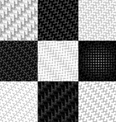 Patterns woven texture vector