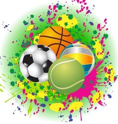 Balls vector