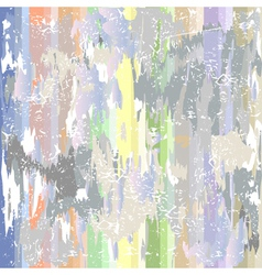 Grunge background with colorful spots vector
