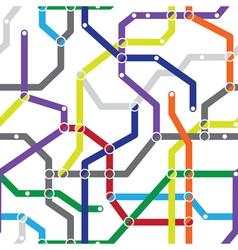 Metro stations pattern vector