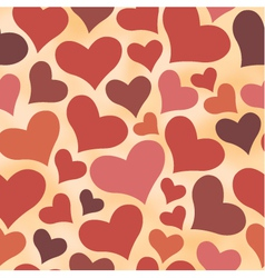 Seamless retro all lovers day pattern vector