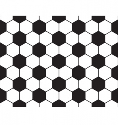 Football pattern vector