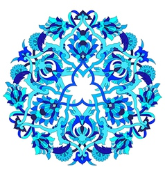 Artistic ottoman pattern series fifty two vector