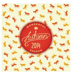 Autumn season 2014 vector