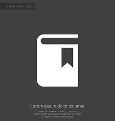 Book premium icon vector