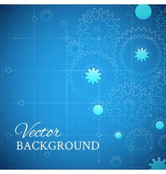 Weels over the blueprint vector