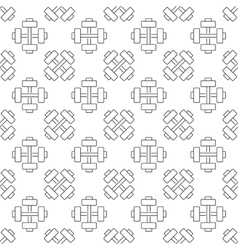 Gym or sport seamless pattern vector