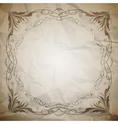 Aged paper texture vector