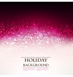 Elegant holiday red background with place for text vector