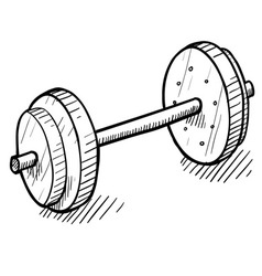 Doodle exercise weights vector
