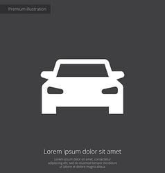 Car premium icon vector
