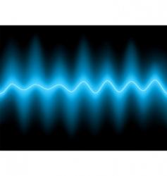 Electrocardiogram ecg vector