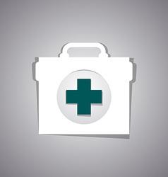 Medicine bag vector