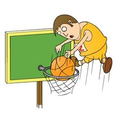 Basketball master vector