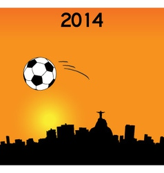 World cup in rio vector