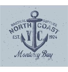 Nautical graphic vector