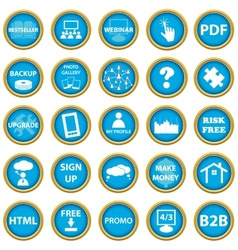 Big web icon set vector