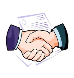Partnership handshake vector
